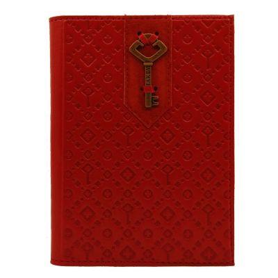Купить Обложка на паспорт   Ключ   Красный в Москве