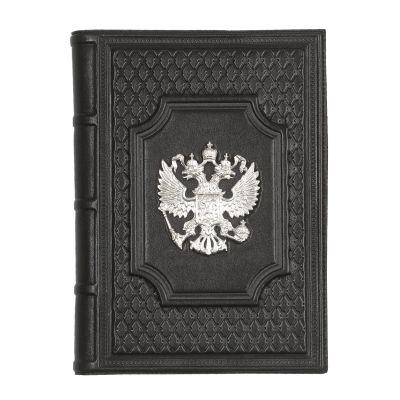 Купить Ежедневник А5 «Федерация» с посеребренным орлом в Москве