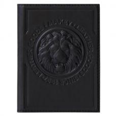 Обложка для паспорта «Royal». Цвет черный