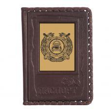 Обложка для паспорта «ГИБДД-1» с сублимированной накладкой