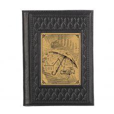 Обложка для паспорта «Страховщику-2» с сублимированной накладкой