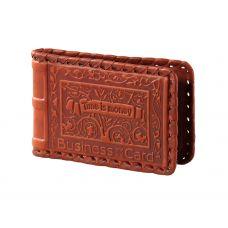 Визитница карманная «Время-деньги»
