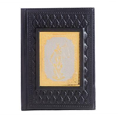 Купить Обложка для паспорта «Фемида-4» с накладкой покрытой золотом 999 пробы в Москве