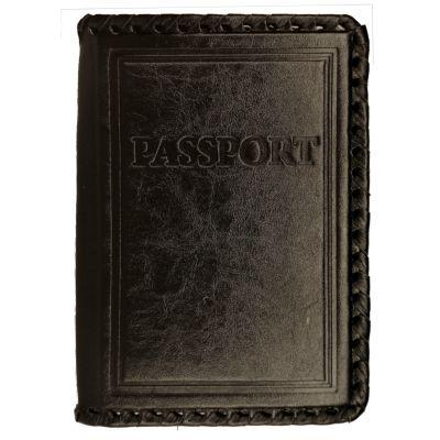 Купить Обложка на паспорт | PASSPORT | Чёрный в Москве