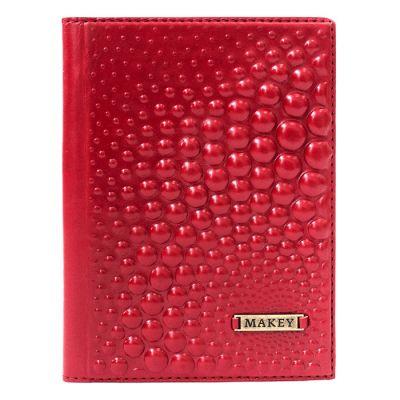 Купить Обложка на паспорт   Bubbles   Красный в Москве