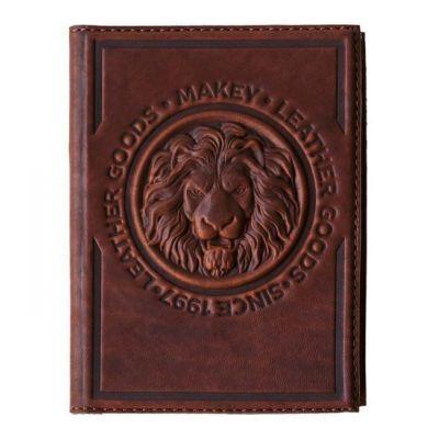 Купить Обложка для паспорта «Royal». Цвет коньяк в Москве