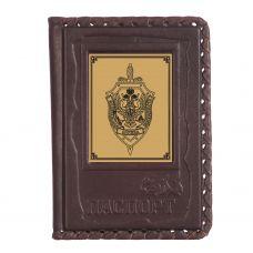 Обложка для паспорта «ФСБ-1» с сублимированной накладкой
