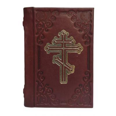 Купить Молитвослов карманный   Бордо в Москве