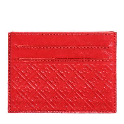 Купить Кардхолдер (футляр для кредитных карточек) «Луидор». Цвет красный в Москве