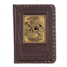 Обложка для паспорта «Шахтеру-1» с сублимированной накладкой