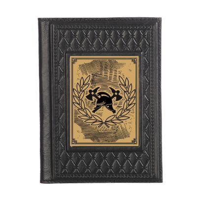 Купить Обложка для паспорта «Пожарному-2» с сублимированной накладкой в Москве