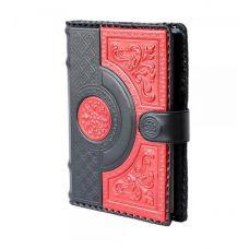 Ежедневник А5 «Венеция». Цвет черно-красный