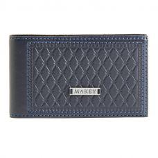 Визитница карманная «Монархия» синяя