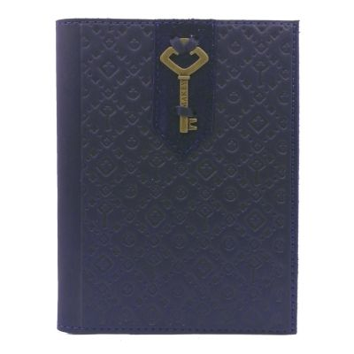 Купить Обложка на паспорт | Ключ | Синий в Москве