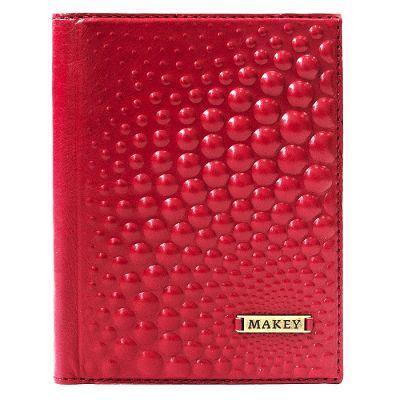 Купить Обложка для автодокументов | Bubblies | Красный в Москве