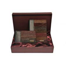 Подарочный набор «Фьорды». Цвет коричневый