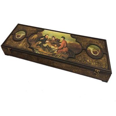 Купить Подарочный набор с шампурами «Охотничий пикник» в Москве