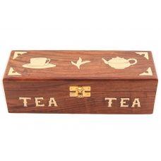Шкатулка под чай № Шк5296 (дерево)