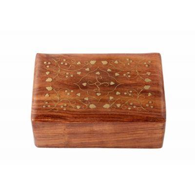 Купить Шкатулка (дерево) 17,5*13*6 № Шк5272 в Москве