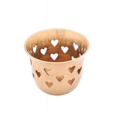 Купить Подсвечник  на чайную свечу № П10142/2 (антик) в Москве