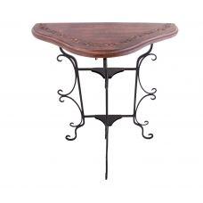 Стол консольный складной  (дерево,металл)№ Пи76