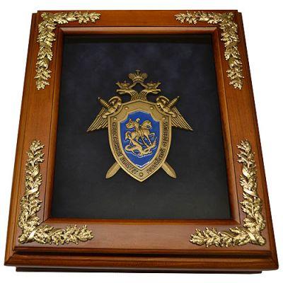 Купить Деревянная ключница с символикой Следственного Комитета в Москве