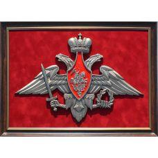 Панно с символикой Вооруженных сил России 38х52 см