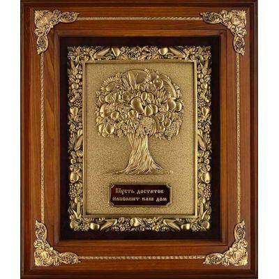 Купить Панно из металла в деревянной раме 34х29см в Москве