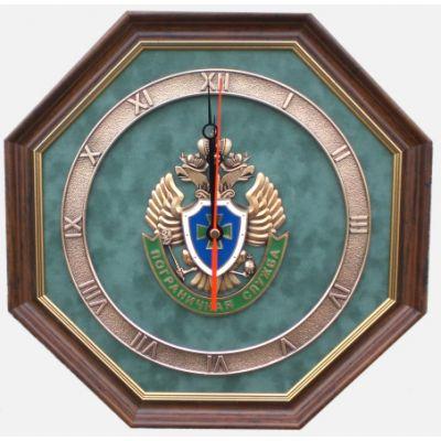 """Купить Настенные часы """"Пограничная служба"""" в Москве"""