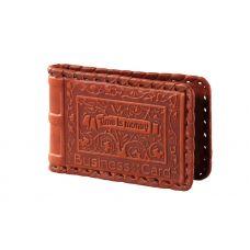 Визитница карманная «Время-деньги» 004-07-02М