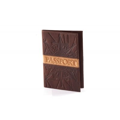 Купить Обложка для паспорта «Роза ветров» 009-07-07М в Москве