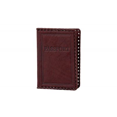 Купить Обложка для паспорта «Иностранец» 009-07-01 в Москве