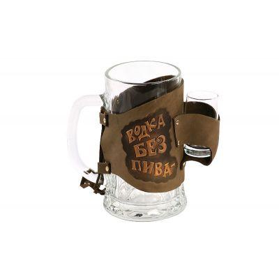 Купить Бокал «Водка без пива-деньги на ветер» 031-07-01М в Москве
