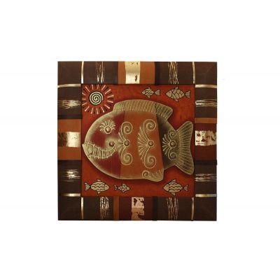 Купить Панно «Рыба» 036-07-03 в Москве