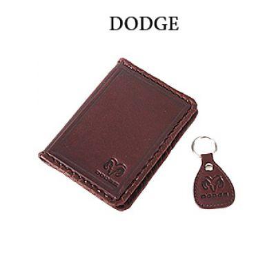Купить Обложка для водительского удостоверения с брелком «DODGE» 065-07-31К в Москве