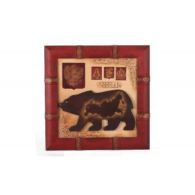 Купить Панно «Медведь» 055-07-02М в Москве
