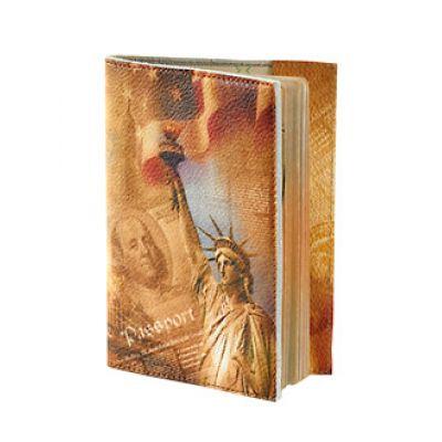 Купить Обложка для паспорта «Статуя Свободы» 009-06-05К в Москве