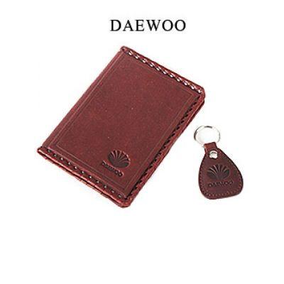 Купить Обложка для водительского удостоверения с брелком «DAEWOO» 065-07-05К в Москве