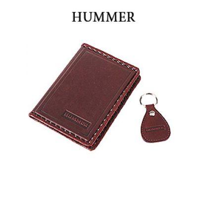 Купить Обложка для водительского удостоверения с брелком «HUMMER» 065-07-33К в Москве