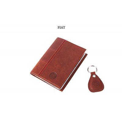 Купить Обложка для водительского удостоверения с брелком «FIAT» 065-07-52К в Москве