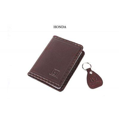 Купить Обложка для водительского удостоверения с брелком «HONDA» 065-07-16К в Москве