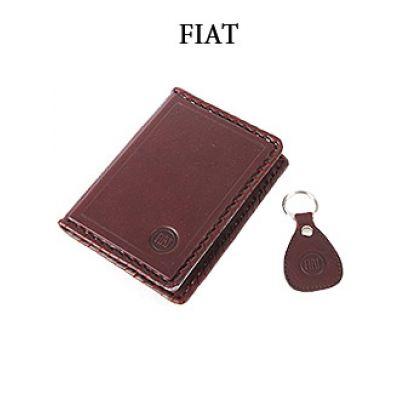 Купить Обложка для водительского удостоверения с брелком «FIAT» 065-07-14К в Москве