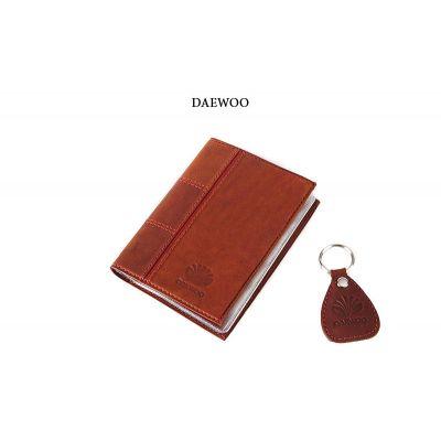 Купить Обложка для водительского удостоверения с брелком «DAEWOO» 065-07-57М в Москве