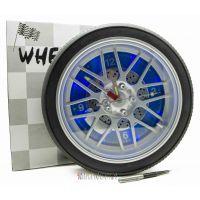 Часы колесо 35 см с подсветкой