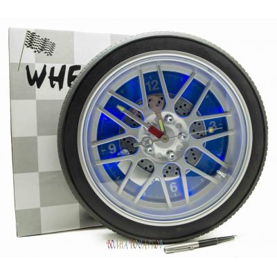 Купить Часы колесо 35 см с подсветкой в Москве