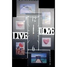 """Часы фоторамка """"Live & Love"""""""
