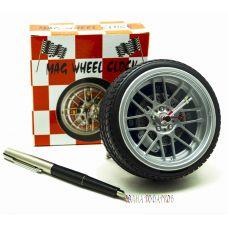 Настольные Часы колесо с будильником