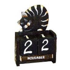 Календарь настольный с фигуркой животного Кот 10х15см. HI-13BMS 00-07
