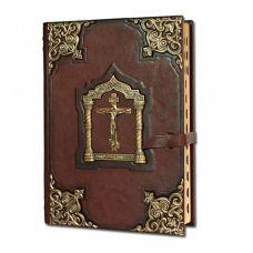 Библия большая с литьем арт. 009л) EB-009(л)