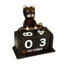 Календарь настольный с фигуркой животного Котенок 13х15см. HI-13BMS 00-09